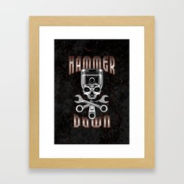 Hammer Down Framed Art Print