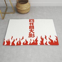 Will of Fire Minato  Rug