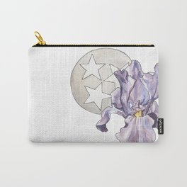 Tennessee Iris Carry-All Pouch
