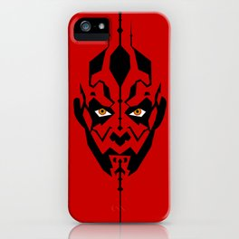 Red Maul iPhone Case