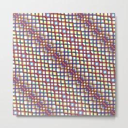 Fish Scale - Mandala Premium Series 004 Metal Print