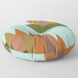 Autumn colours Floor Pillow