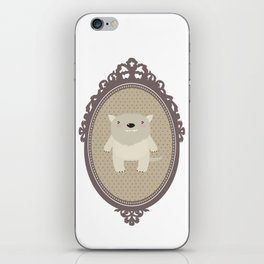 sweet wolf iPhone Skin