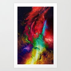 Everything is nothing 2 (therefore it was beautiful) Art Print