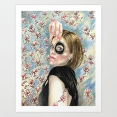 Beth's Lovers Eye Art Print