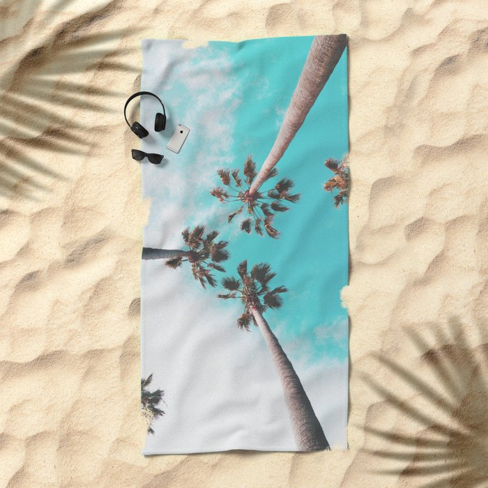 Cali Dreamin' Beach Towel