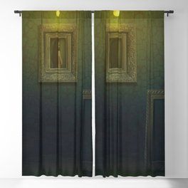 'The Girl in the Attic' female portrait painting Blackout Curtain