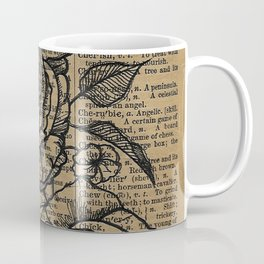 Antiqued Roses Coffee Mug