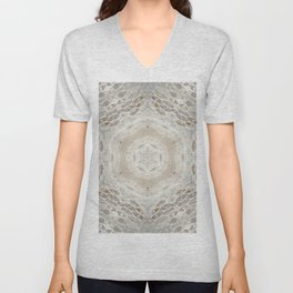 Inlay Unisex V-Neck