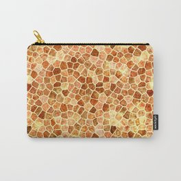 Faux Giraffe Skin Abstract Pattern Carry-All Pouch