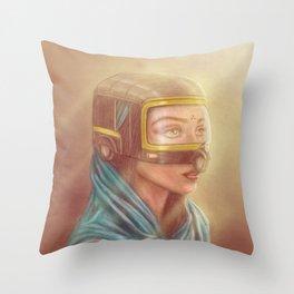 Auto Veil Throw Pillow