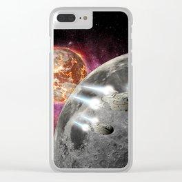 earth exodus Clear iPhone Case