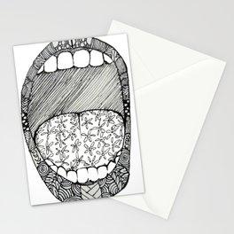 Pattern-scream Stationery Cards