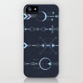 Geometric Arrows - Native American Sioux iPhone Case