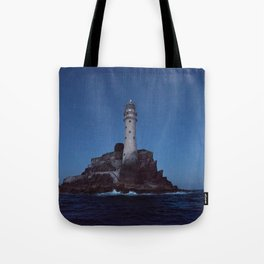 (RR 293) Fastnet Rock Lighthouse - Ireland Tote Bag