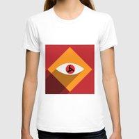 sasuke T-shirts featuring Sharingan Illusion by Asif Mallik