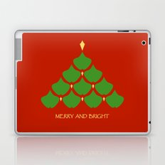 Merry and Bright Ginkgo Christmas Tree Laptop & iPad Skin
