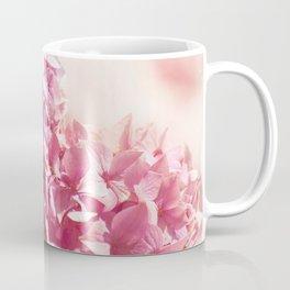 Dreamy pink hydrangea - Flower - Floral Coffee Mug