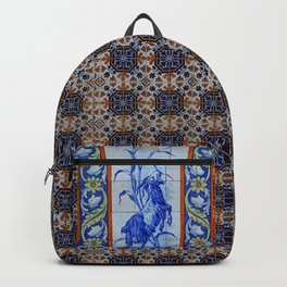 Goat Vintage Mosaic Tiles Backpack