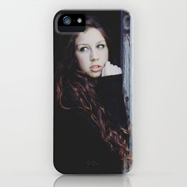 Darkness the light. iPhone Case