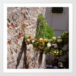now before you and me (Porto Venere, Italy) Art Print