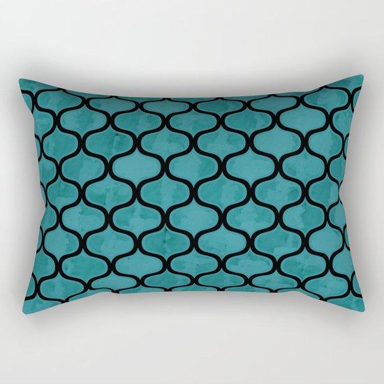 Watercolor Lovely Pattern VVXIV Rectangular Pillow
