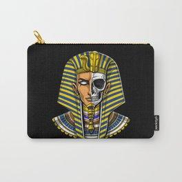 Egyptian Pharaoh Skull Carry-All Pouch