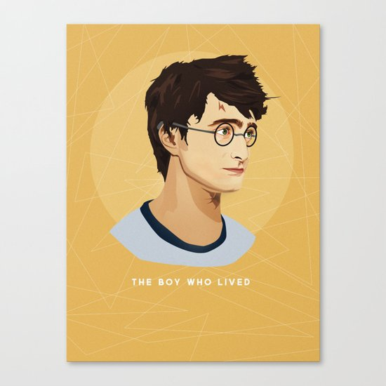 The Boy Who Lived Canvas Print