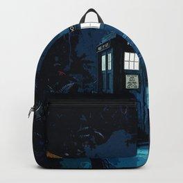 Tardis In Wonderland Backpack