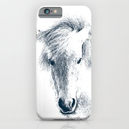 Cute Ponyface iPhone Case