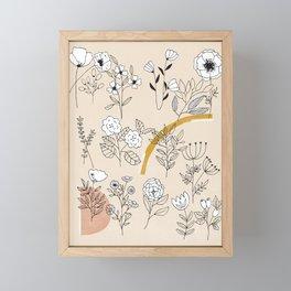 Spring is beautiful Framed Mini Art Print
