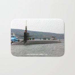 USS LOUISIANA (SSBN-743) Bath Mat