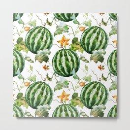 Melon Pattern 05 Metal Print