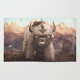 Appa in the Mountains Rug