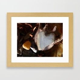 Heart of Stone 2 Framed Art Print
