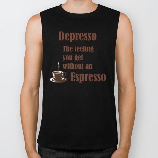 Espresso Biker Tank