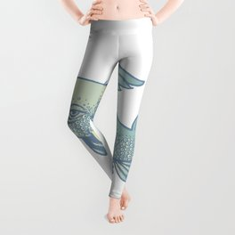 saber-toothed dolphin Leggings