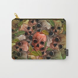 Apple Skull Carry-All Pouch