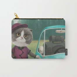 Where are you going kitty? Carry-All Pouch