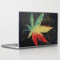 marijuana Laptop & iPad Skins featuring Marijuana by Michael Creese