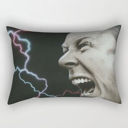 'James Wrath' Rectangular Pillow