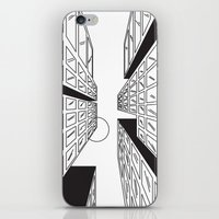 buildings iPhone & iPod Skins featuring Buildings by Koral Feria