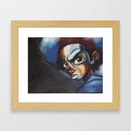 Huey Freeman Framed Art Print