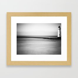 Lighthouse at Hoylake,The Wirral 2009 Framed Art Print