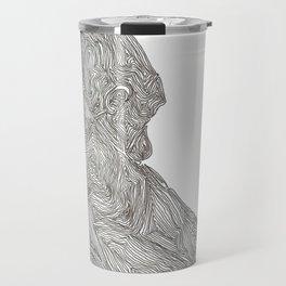 Quiet Gorilla Travel Mug