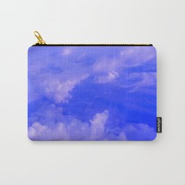 Aerial Blue Hues III Carry-All Pouch