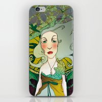 mucha iPhone & iPod Skins featuring mucha chas by lilumon