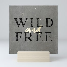 Wild and Free Mini Art Print