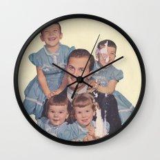 He's a family man Wall Clock