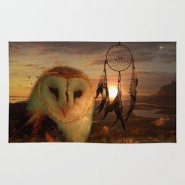 Dream Catcher and Magic Owl Rug